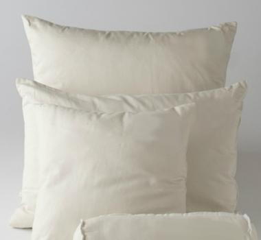 organic cotton kapok pillow inserts