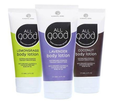 All Good Body Lotion – 3 Pack
