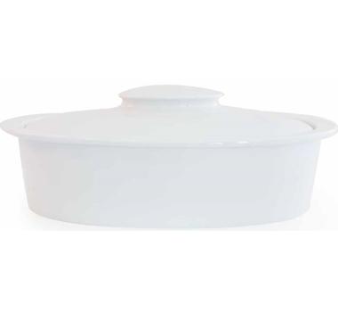 Brasserie Eco Porcelain Oval Casserole