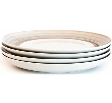 Dakota Porcelain Salad Plate - Set Of 4 - Birch