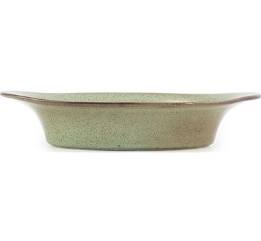 Farmstead Stoneware Small Oval Baker - Mint