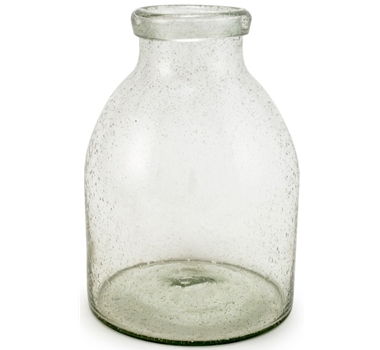 Glass Bubble Vase Recycled Glass Vase The Ultimate Green Store