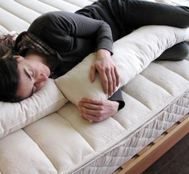 Holy Lamb Organic Cotton Body Pillow Buddy