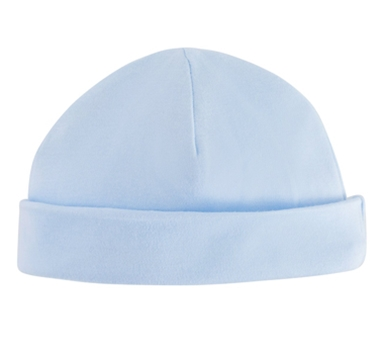 Under The Nile Organic Cotton Baby Beanie - Pale Blue 1151987eaa8