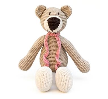 Ultimate | Organic | Cotton | Stuff | Green | Bear | Toy