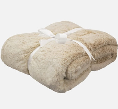 Cariloha Plush Bamboo Throw Blanket