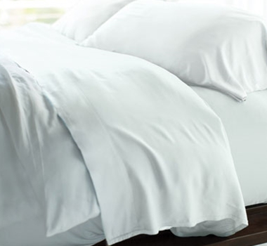 Cariloha Resort Bamboo Bed Sheets - White