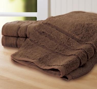 Cariloha Bamboo Hand Towel (set Of 3) - Almond Truffle