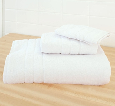 Cariloha Bamboo Bath Towel Set White