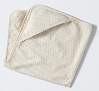 Coycuchi Mediterranean Organic Cotton Hooded Towel in Natural