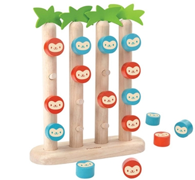 Plan Toys Monkeys In A Row