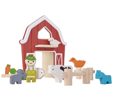 Plan Toys Eco-Friendly Farm Set