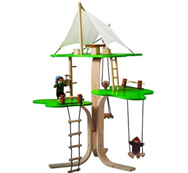 Plan Toys Eco-Friendly Tree House Set