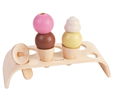 Eco-Friendly Ice Cream Set