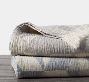 Pismo Organic Blanket and Shams