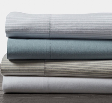 Soft Washed Organic Cotton Sheet Set