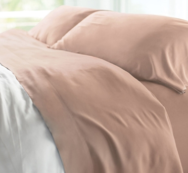 Resort Bamboo Bed Sheet Sets - Blush