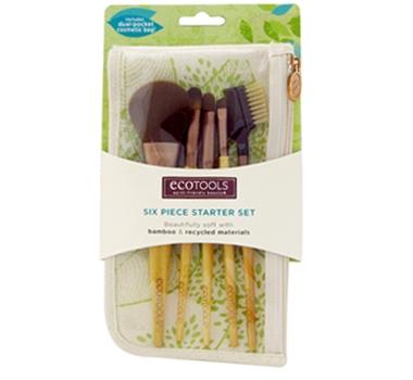 Eco Tools Bamboo 6-piece Sustainable Make Up Brush Set