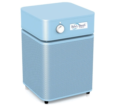 Baby's Breath Air Purifier Filtration System in Blue