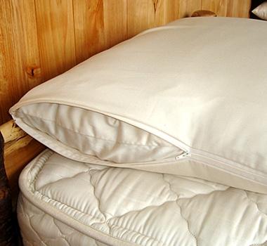 Holy Lamb Organics Zippered Organic Pillow Cover