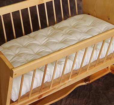 Holy Lamb Organic Mattress for Cradle & Bassinet Mattress