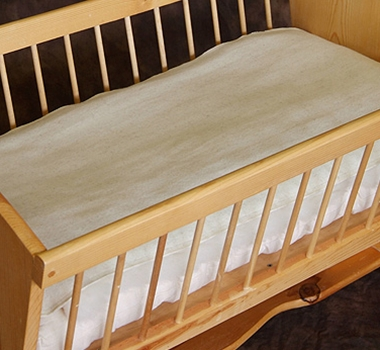 Cozy Buns Organic Cradle & Bassinet Moisture Barrier Mattress Pad Cover