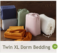 Shop Twin XL Organic Dorm Bedding
