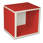 Storage Cube in Red