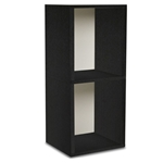 Double Storage Cube Plus in Black