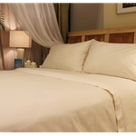 Organic Cotton Sateen Sheet Set - California King
