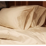 Organic Cotton Sateen Pillowcases - King (Set of Two)