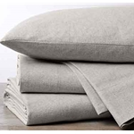 Flannel Pillowcases (Set of Two) - King