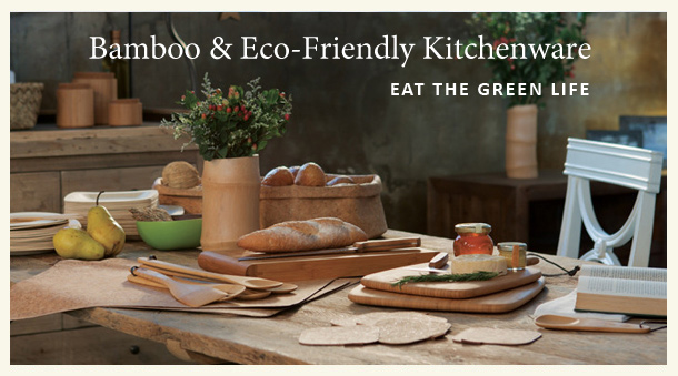 Bamboo & Eco-Friendly Kitchenware