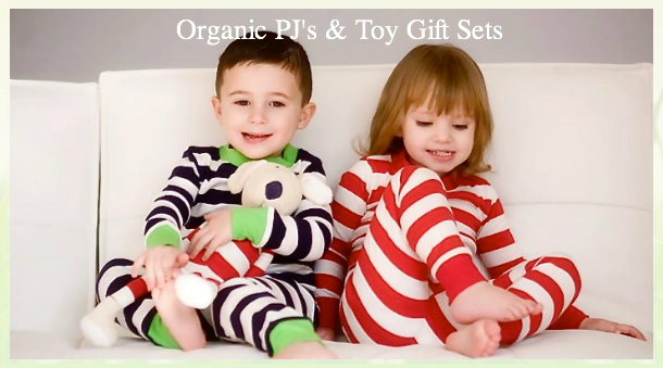 Organic PJ's & Toy Gift Sets
