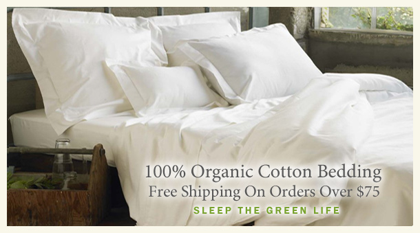 100% Organic Cotton Bedding