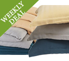 Weekly Deal - Save 40% on Organic Herringbone Duvets & Shams