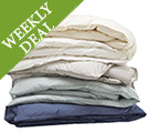 Weekly Deal - Save 40% on Organic Cotton Lace Duvets & Shams