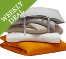 Weekly Deal - Save 40% on Linen Duvets, Shams and Bed Skirts