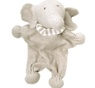 UP Organic Cotton Soft Toy Elephant