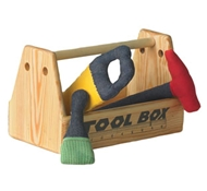 Organic Cotton Toy Tool Box Set