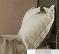 Relaxed Linen Pillow Shams ($78 - $98)