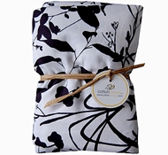 Casablanca Organic Cotton Crib Sheet ($49)