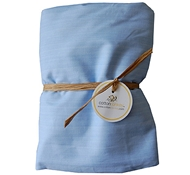 Vein Organic Cotton Crib Sheet ($49)