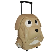 EcoZoo Cotton Kid's Rolling Puppy Backpack
