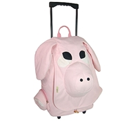 EcoZoo Cotton Kid's Rolling Pig Backpack