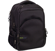 Rhino II Eco-Friendly Laptop Backpack in Black