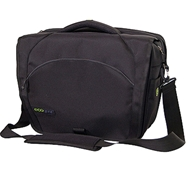 Tiger II Eco-Friendly Laptop Carrier Messenger Bag in Black