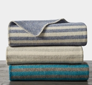 Striped Wool Blankets
