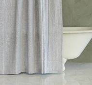 Rustic Linen Shower Curtains