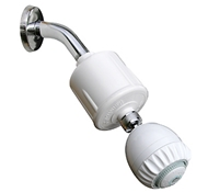 Rainshow'r RS-502 Dechlorinating Shower Filter with Massage Action Shower Head